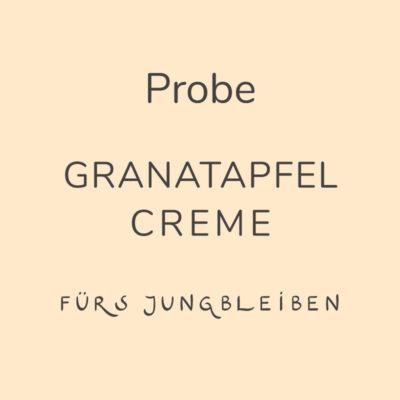 Probe Granatapfel Creme