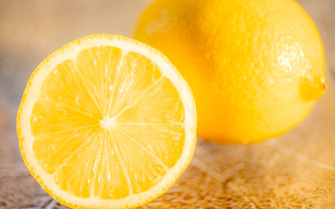 Zitronen mit Vitamin C